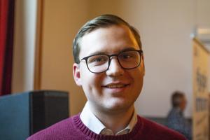 Niklas Rhodin (S), oppositionsråd i Krokoms kommun.