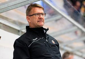 Tomas Jonsson gjorde ett inhopp i båset för Modo i slutet av säsongen 2016–17.Foto: Pär Olert / Bildbyrån