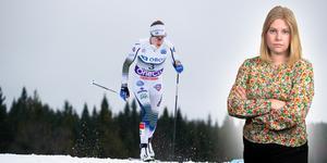 Välförtjänt pallplats för Ebba Andersson under söndagen. Sportens Camilla Westin listar fem heta punkter från damernas jaktstart i Lillehammer. Bilden är ett montage.