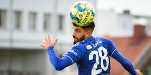 Omar Eddahri har gjort tio matcher, tre mål och två assist för GIF Sundsvall den här säsongen. Bild: TT.