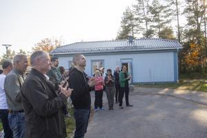 32 personer vars nya arbetsplats invigdes under fredagen.