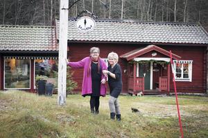 Tillsammans. Katarina Andersson startade butiken Storstilat. I dag är det Lotta Morin som har tagit över.