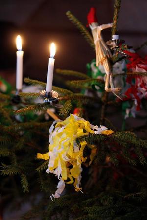Granen kommer vara redo för dans på julfirandet i Kramfors. Bild: Sofie Wiklund/Arkiv