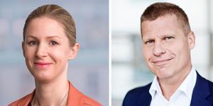 Johanna Wilkens och Patrik Westander.