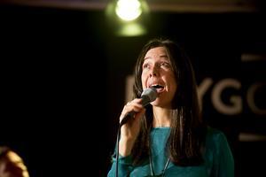 Rigmor Gustafsson har en fantastisk jazzröst och turnerar över hela Europa.