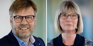 Centerpartiets Klas Hedlund och Karin Örjes ger sin syn på ökad trygghet på arbetsmarknaden.