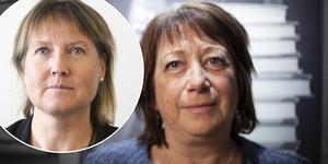 Elise Ryder Wikén (M) och Karin Thomasson (MP).
