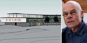 Konstnären Bo Söderström, Järvsö, ska utsmycka en stor del av fasaden på nya Bläseboskolan i Göteborg.