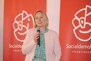 Jytte Guteland, Europaparlamentariker. Fotograf: Johannes Tyve
