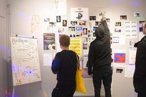 Foton, affischer, film och mycket mer från Backbeatbolagets numera långa historia.  Bild: Elina Bodell