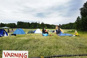 Varning för Get Away-campingens partypionjärer!– Hårdrockare är fulla, men det blir aldrig bråk. Fokus ligger på glädje, säger Linda Holmgren campinggeneral.
