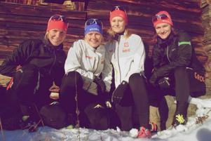 Laget består av Emma Forsell, Tanja Lyngholm Kristiansen, Anna Gredander och Linnéa Grahn.