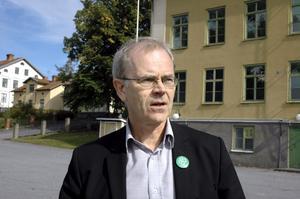 Tänker satsa. Centerpartisten Anders Larsson tänker göra vad han kan för att Strandskolan efter flera års diskussioner ska kunna byggas om till bostäder.