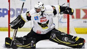 Jens Holmström klarade av Växjös hårda press i den tredje perioden. Foto: Henrik Johansson/Pic-Agency.