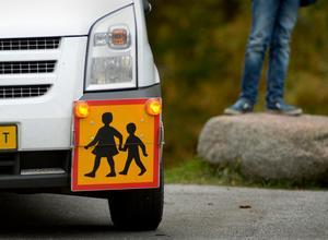 Skolskjutsen fungerar dåligt i kommunen. Foto: Janerik Henriksson/TT