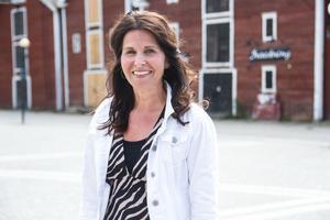AnnSofie Lundvall menar att föreningen tar små steg för att värna om en levande stadskärna i Hudiksvall.