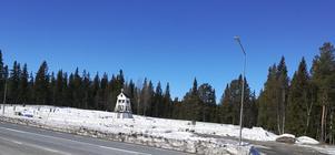 Avverkningen på Hållans begravningsplats i Funäsdalen   upprör lokalbefolkningen. Foto: Privat