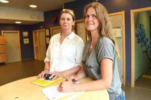 Anna Karin Winberg och Lena Sundberg startade projektet i skolan för att eleverna skulle få arbeta kreativt och tänka utanför boxen.