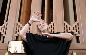 Anna-Lena Engström, vikarierande organist i Nynäshamns församling, leder lördagens filmmusikkväll i Nynäshamns kyrka. Konserten börjar klockan 17.