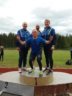 Kjell Widelund, Göran Åberg, Anders Silén och Torvald Pääjärvi