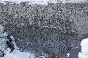 Antti Rokka är ett närmast ikoniskt namn i Finland. Men den verklige Rokkas grav finns i Långshyttan.
