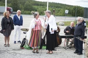 Lena Krantz, verksamhetsansvarig för Njurundaföretagarna och Margareta Nordström, projektledare för bygget.