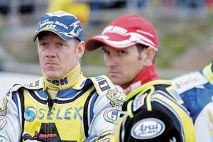 Tony Rickardsson och Leigh Adams år 2004.