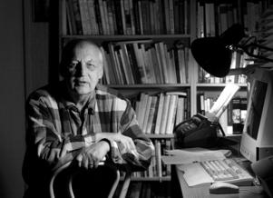 Författaren och litteraturvetaren Knut Ahnlund  motsatte sig att Horace Engdahl valdes in i Svenska Akademien. Foto: Malin Hoelstad / SvD