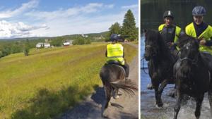 """Rider på islandshästar genom Sverige – just nu i Västernorrland: """"Vi fick uppleva Häggdångers mysiga natur"""""""