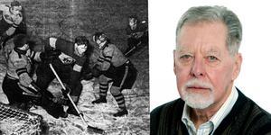Bilden till vänster: Ove Dahlberg, Sura IF, Anders Ander VIK,