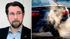 Hans Forsberg (C) säger att de inte hunnit se över regeringens beslut om att kommuner får införa miljözoner. Arkivbilder: Håkan Humla och Pontus Lundahl/TT