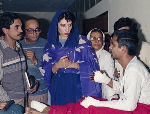 Benazir Bhutto.Bild:  Herve Merliac