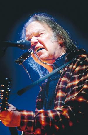 Legendaren Neil Young stod i en klass för sig.