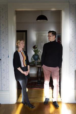 Erika och Björn Åberg har hittat sitt drömkontor i Gävle.