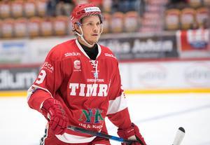 Didrik Strömberg är den senaste spelaren som har flest utvisningar i Timrådressen. Bild: Pär Olert/Bildbyrån.