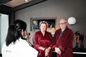 Bröllopet ägde rum den nionde december förra året. Foto: Jenny Edin
