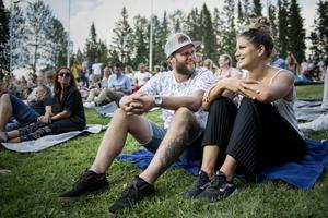 Andreas och Sandra Hiller hade väntat ända sedan i december på kvällens konsert.