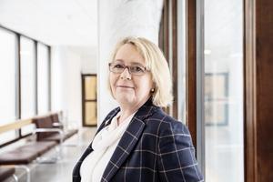 Irene Svenonius (M), finansregionråd i Region Stockholm. Foto: Emma-Sofia Olsson / SvD / TT.