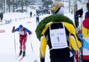 Jens Eriksson kunde efter mer än fyra minuter se det närmsta motståndet gå i mål bakom honom.
