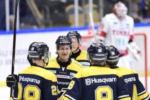 HV71 firar mål mot Timrå.