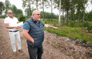 Håkan Åman och Christer Sammils har känt varandra sedan 1982 och är båda erfarna företagare. Nu har de en tydlig vision för de fem tomterna vid Noren. De kommer att kunna erbjuda topplån av bostaden, förutsatt att banken godkänt ett bottenlån på 85 procent.