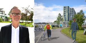 Det juridiska ombudet för fastighetsägarna i Östanbäcken Lars-Erik Eriksson. Foto: Privat och