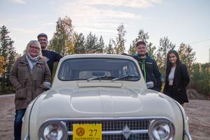 Laban är en bil som folk verkar bli glada av att se förklarar Katarina Larsson Widén, Mellanfjärden, Jättendal, som åkte i Nattmuffen med Tommy Blomkvist, Anton Larsson Widén och Pernilla Wik, Hudiksvall.
