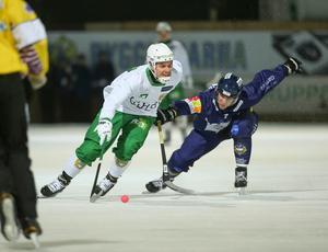 Tellus chockade Hammarby genom att spela 2–2 i ett av fjolårets derbyn på Zinkensdamm. Kan man återupprepa den bedriften på lördag? FOTO: Sören Andersson/TT