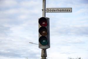 Trafikljusen har inte fungerat sedan i fredags.