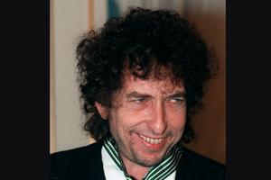 Bob Dylan, 77 år, författare, USA: