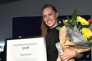 Fotografen och filmaren Maja Daniels tilldelas Fotografiskas Stora Dokumentärfotopriset för sin film