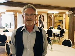 Börje Larsson driver Björnbergs åkeri och grus som vann Årets företagare under galan.