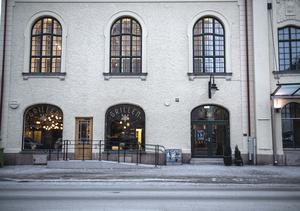 Teatergrillen på Köpmangatan höll öppet lite mer än två år.