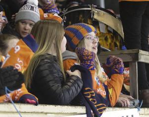 Bollnäs supportrar fick inga poäng att jubla över, men väl en häftig fest på Sävstaås.